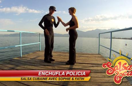 Enchufla policia