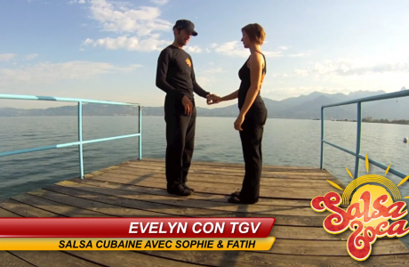 Evelyn con TGV