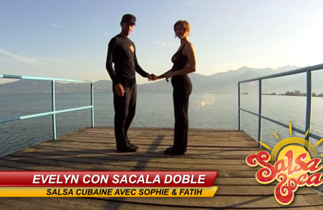 Evelyn con sacala doble