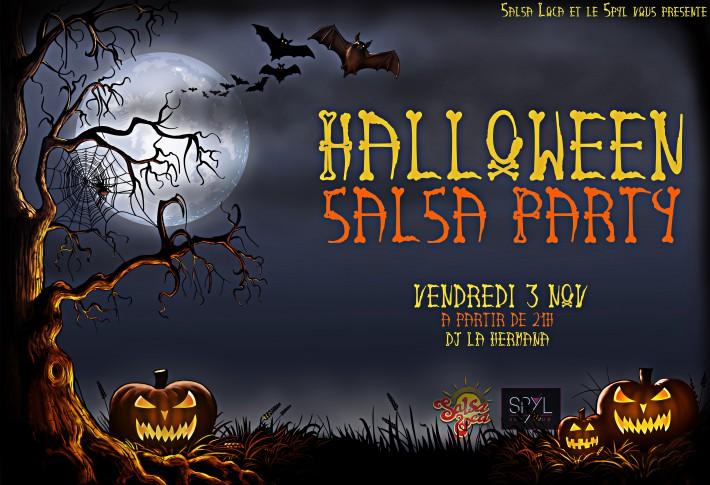 Creepy Halloween Scene - Digital Illustration